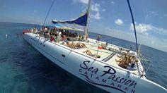 DJI Phantom Cancun Catamarans