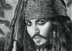 Jack Sparrow by Alena Baradaukina