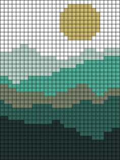 Crochet Wall Art, Tapestry Crochet Patterns, Crochet Wall Hangings, Crochet Stitches Patterns, Crochet Home, Embroidery Patterns, Knitting Patterns, Beaded Cross Stitch, Cross Stitch Embroidery