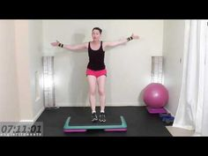 Step Aerobics Workout for Weight Loss Workout Routine  Tone & Sculpt  Simple & Fun: AngieFitnessTV - Healthy Weight Loss
