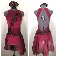 Custom dance costumes, designed and made, specially for you. Let us work together to create that one of a kind look. Prices will vary depending upon intricacy of design and extent of detail. Feel...