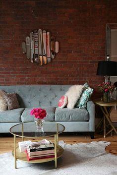 Couchtisch Vintage Stil für die Wohnzimmerausstattung - http://freshideen.com/mobel/couchtisch-vintage.html