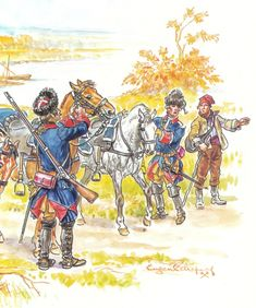 French Cavalry Corps 1759-1760
