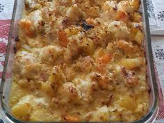 pomme de terre, crevette, julienne, échalote, persil, bouquet garni, vin blanc, farine, cognac, jaune d'oeuf, crème fraîche, beurre...