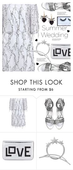 """""""Say I Do: Summer Weddings"""" by meyli-meyli ❤ liked on Polyvore featuring Les Petits Joueurs and Huda Beauty"""
