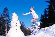 Winter In Vogue  November 1995  Photographed by Arthur Elgort