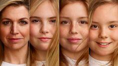 Dít detail was je vast nog niet opgevallen aan de nieuwe foto's van Máxima en de prinsesjes