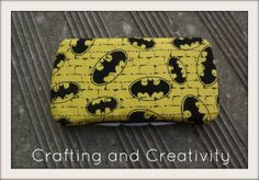 Crafting and Creativity: Batman Wipes Case