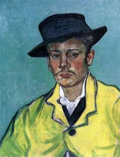 Vincent Van Gogh, Portrait of Armand Roulin, November-December 1888, Arles, Oil on canvas, 65 x 54 cm, Museum Folkwang, Essen