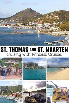 Thomas and St. Maarten – Cruising with Princess Cruises Cruise stops in St. Thomas and St. Maartin with Princess Cruises – www. Cruise Port, Cruise Tips, Cruise Travel, Cruise Vacation, Vacation Trips, Italy Vacation, Vacations, Vacation Wishes, Vacation Ideas