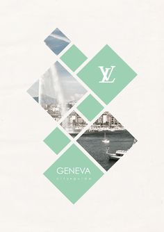 City Guide by Suellen Lopes Oliveira, via Behance