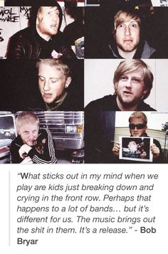 Bob Bryar | quote | I love this so much