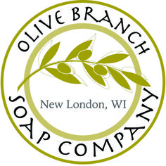 Logo for Olive Branch Soap Co., my sister Jennifer's business.