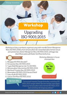 Workshop Upgrading ISO 9001:2015 bagi organisasi