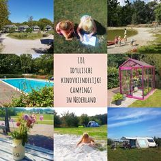 Kamperen met kinderen: idyllische kindvriendelijke campings in Nederland Algarve, Baby Groot, Camping Life, Image House, Ibiza, Glamping, Illusions, Amsterdam, Places To Go