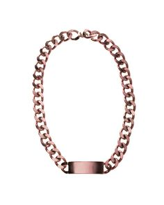 The Light Pink Id Necklace by JewelMint.com, $165.00