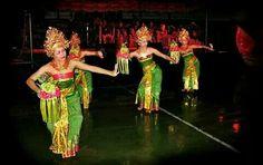 Pendet dance. Original dance from Bali Indonesia