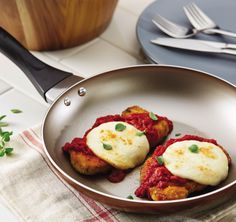 This crowd-pleasing Pork Parmesan is a delicious, Italian-inspired dish that takes only 4 steps to make.