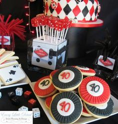 Casino Night Party Decorations casino theme shower inspiration | bridal shower | pinterest