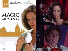 Magic Moments (1989) Jenny Seagrove stars as Melanie James, an assistant producer of TV shows who finds herself falling under the spell of magician Troy Gardner (John Shea) who she sets out to persuade to do a TV show. But their mutual attraction leads to jealousy as Melanie's boss, Brian Swann (Paul Freeman), has always had a thing for her.