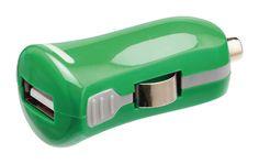 USB-laturi 2.1A, 1xUSB, Vihreä – Valueline Usb