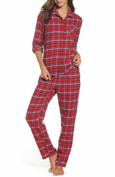 1883def59f955 Make + Model Flannel Girlfriend Pajamas Flannel Pajamas