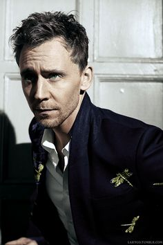 Tom with his dragonfly jacket ;)