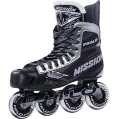 Built for comfort and maximum breathability during outdoor play, the Mission® Senior Inhaler NLS6 Roller Hockey Skates feature a HI-LO™ chassis that combines speed and control for premium performance that lasts.