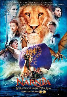 Las Crónicas de Narnia: La travesía del viajero del Alba : Cartel