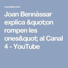 """Joan Bennàssar explica """"on rompen les ones"""" al Canal 4 - YouTube"""
