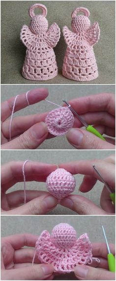 Crochet Angel Patterns For Christmas - knitting is as easy as 3 Das S . , ideen weihnachten einfach Crochet Angel Patterns For Christmas - knitting is as easy as 3 Das S . Crochet Christmas Decorations, Crochet Ornaments, Christmas Crochet Patterns, Holiday Crochet, Christmas Knitting, Crochet Crafts, Crochet Toys, Crochet Projects, Free Crochet