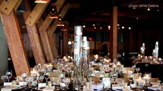 Elegant, rustic wedding reception - Lupins at Grouse Mountain - The Peak of Vancouver