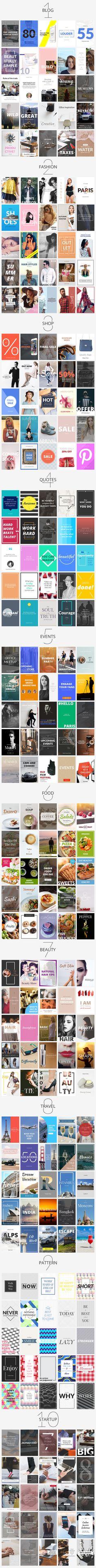 Pinterest Social Media Banners Pack on @creativemarket #pinterest #socialmedia #banner #blog #marketing #graphic #website #design #blogbanner #bloggraphic #socialmediagraphic #websitegraphic