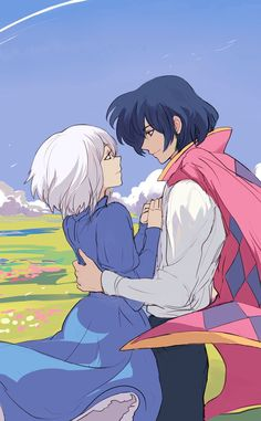 Howl's Moving Castle- After a chance meeting with the infamous wizard Howl, Sophie gets cursed to look like an old woman and work as handsome Howl's housekeeper until she can break the spell.
