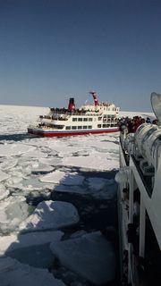 Drift Ice. Looking for more information aboout Hokkaido? Go Visit Abashiri icebreaker. https://www.ms-aurora.com
