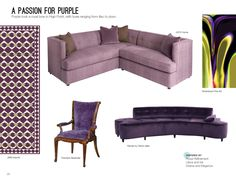 Trend: A Passion For Purple #hpmkt