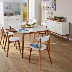 Chaises de salle à manger design scandinave                              …