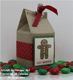 Got Treats Christmas Mini Milkcarton
