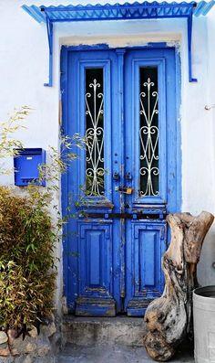 deep blue.. Greece | Flickr - Photo by Eleanna Kounoupa