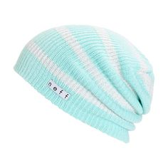 This slouchy beanie is made wit ha stripe pattern and lurex thread detailing for a sparkly look, while the thick knit construction keeps you warm and comfy.