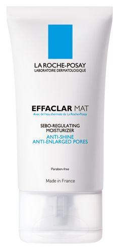 EFFACLAR MAT: Moisturizer. Anti Shine, Anti enlarged pores. Reduces pores and sebum flow.  Keeps skin matte.