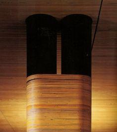 1939: Wrapped column detail at Alvar Aalto's Vila Mairea in Noormarkku, Finland  http://www.1972projects.blogspot.com