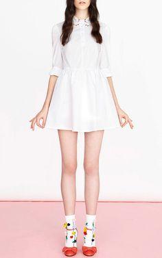 Sabina Skater Dress by VIVETTA Now Available on Moda Operandi