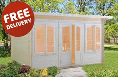 Cabins Unlimited - Zoey - 4.0m x 3.0m - 34mm Log Cabin, £2,330.00 (http://www.cabinsunlimited.co.uk/zoey-4-0m-x-3-0m-34mm-log-cabin/)