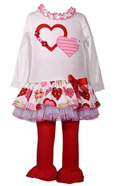 Baby Gap NWT 1 pc Red HEARTS TULLE BOW HOLIDAY SKIRT BLOOMER BOTTOMS 12 18 Month