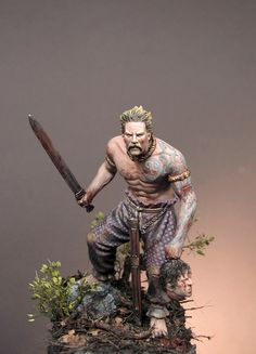 All things Viking, Celtic and Nature related Statues, Vikings, Celtic Warrior Tattoos, Celtic Warriors, Celtic Culture, Viking Warrior, Pictish Warrior, Modelos 3d, Fantasy Miniatures