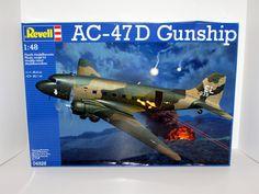 AC-47D Gunship Revell #04926 1/48 Scale Military Helicopter New Model – Shore Line Hobby