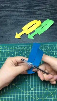 Paper Mache Crafts, Paper Crafts Origami, Paper Crafts For Kids, Diy Paper, Diy For Kids, Diy Crafts Hacks, Diy Crafts For Gifts, Diy Arts And Crafts, Fun Crafts