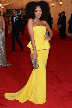 Costume Institute Gala 2012 - Solange Knowles