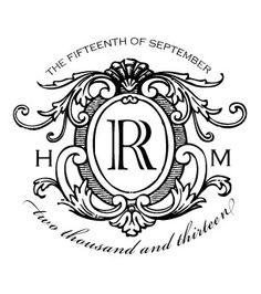 Love Logo #16 - Traditional Wedding Logo Design